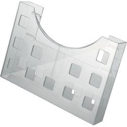 helit Prospekthalter the grid, DIN A5 quer/2x DIN A6 hoch