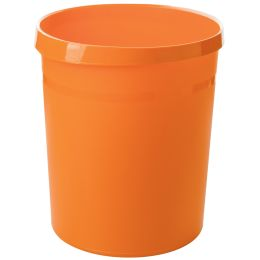 HAN Papierkorb GRIP Trend Colour, 18 Liter, rund, orange