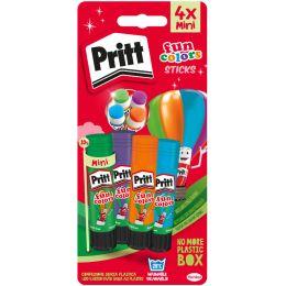 Pritt Klebestift Fun Colors, 4er Blisterkarte