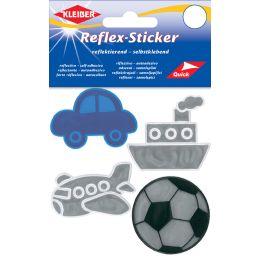 KLEIBER Reflex-Sticker Jungs, sortiert
