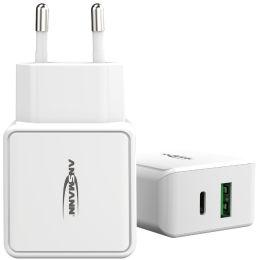 ANSMANN USB-Ladegerät Home Charger HC218PD, 2x USB-Kupplung
