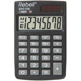 Rebell Taschenrechner SHC 108, schwarz