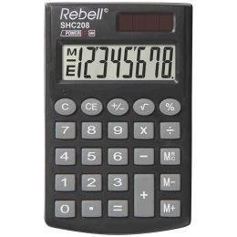 Rebell Taschenrechner SHC 208, schwarz