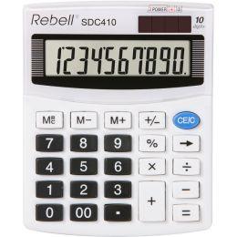 Rebell Tischrechner SDC 410, weiß