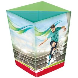 ROTH Papierkorb Fußballstar, aus Karton, 10 Liter