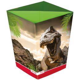 ROTH Papierkorb Tyrannosaurus, aus Karton, 10 Liter