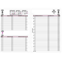 bind Ersatzkalender 2022 für Terminplaner A5 Modell 15501