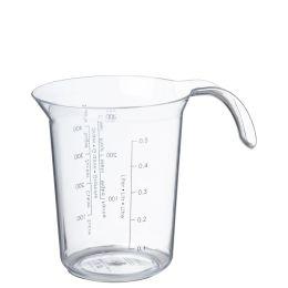 plast team Messbecher Palermo, 0,5 Liter, transparent