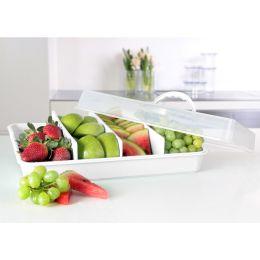 plast team Kuchenhaube/Tortenbutler, transparent/weiß