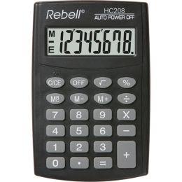 Rebell Taschenrechner HC 208, schwarz