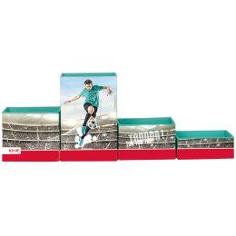 ROTH Multiköcher-Set Fußballstar, aus Karton, 4 Fächer