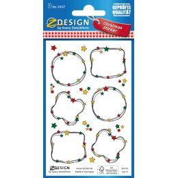 AVERY Zweckform ZDesign Weihnachts-Sticker Beschriftung