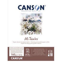 CANSON Zeichenpapier Mi-Teintes, im Block, 240 x 320 mm