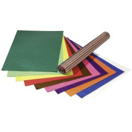 folia Transparentpapier, 700 x 1.000 mm, 42 g/qm, zitrusgelb