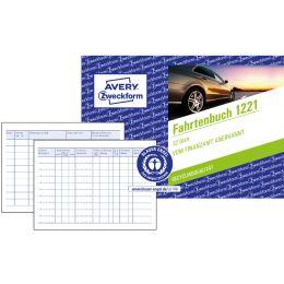 AVERY Zweckform Formularbuch Fahrtenbuch, A6 quer