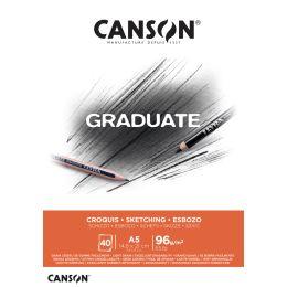 CANSON Studienblock GRADUATE SKIZZE, DIN A5