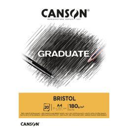 CANSON Studienblock GRADUATE BRISTOL, DIN A5