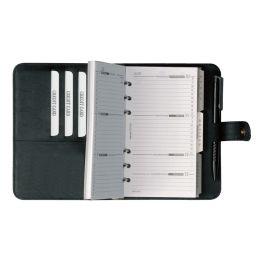 bind Terminplaner Modell 16501, A6, Kalender 2022, schwarz