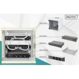 DIGITUS 10 Netzwerk-Set, 6 HE, (B)312 x (T)300 mm