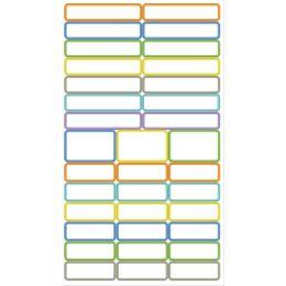 agipa Stift-Etiketten, selbstklebend, farbig sortiert