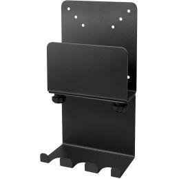 LogiLink Mini-PC-Halterung, mit Kabelmanagement, schwarz
