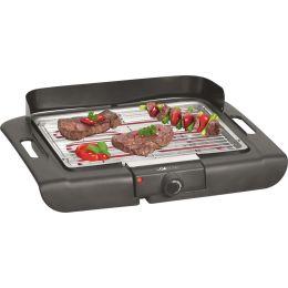 CLATRONIC Barbecue-Tischgrill BQ 3507, schwarz