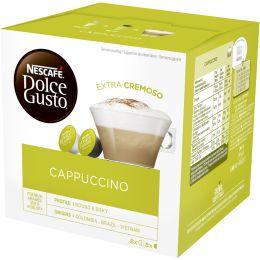 NESCAFE Dolce Gusto Kaffee Kapseln CAPPUCCINO EXTRA CREMOSO