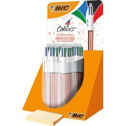 BIC Druckkugelschreiber 4Colours Shine, im Thekendisplay