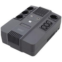 DIGITUS All-in-One USV, 600VA/360W, LED