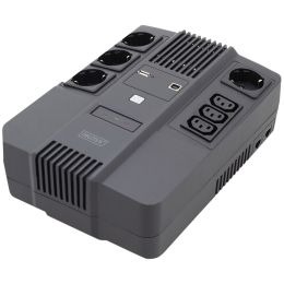 DIGITUS All-in-One USV, 800VA/480W, LED