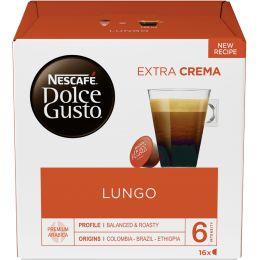 NESCAFE Dolce Gusto Kaffee Kapseln LUNGO EXTRA CREMA