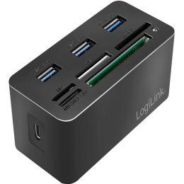 LogiLink USB 3.2 (Gen 1) Mini Docking Station, 8-Port