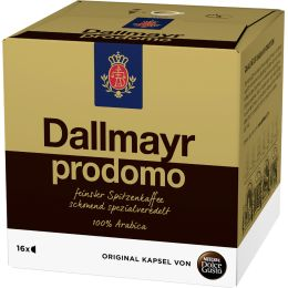 NESCAFE Dolce Gusto Kaffee Kapseln Dallmayer prodomo