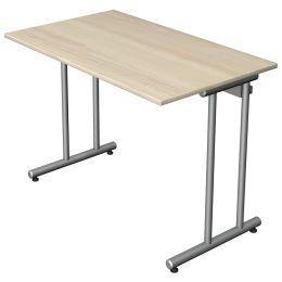 kerkmann Schreibtisch Start Up, (B)1.600 x (H)750 mm, grau