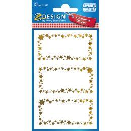 AVERY Zweckform ZDesign Weihnachts-Sticker Sterne