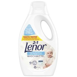 Lenor Flüssig-Waschmittel Sensitiv, 1,375 L, 25 WL