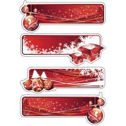 HERMA Weihnachts-Geschenksticker DECOR Weihnachtssymbole