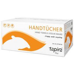 Tapira Handtuchpapier Plus, 250 x 330 mm, C-Falz, weiß