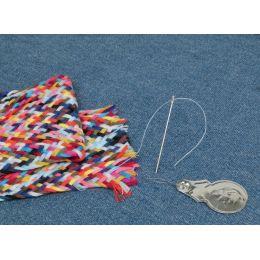 KLEIBER Nähzopf mit Nadel und Einfädler, 24 Farben