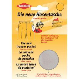 KLEIBER Quick-Ersatzhosentasche, hellgrau