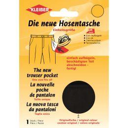 KLEIBER Quick-Ersatzhosentasche, schwarz