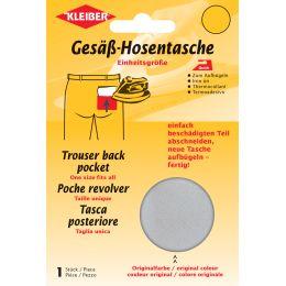 KLEIBER Quick-Gesäß-Hosentasche, hellgrau