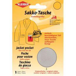KLEIBER Quick-Sakko-Tasche, hellgrau