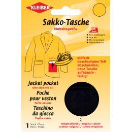 KLEIBER Quick-Sakko-Tasche, schwarz