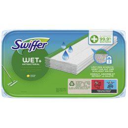 Swiffer Wet Wischtücher Antibakteriell Nachfüllpackung, 10er