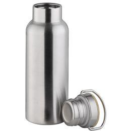 APS Trinkflasche, aus mattiertem Edelstahl, 0,5 Liter