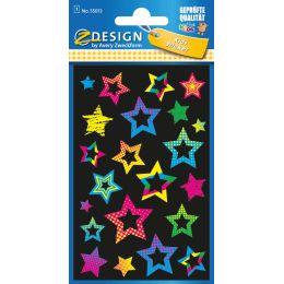 AVERY Zweckform ZDesign KIDS Neon-Sticker Sterne