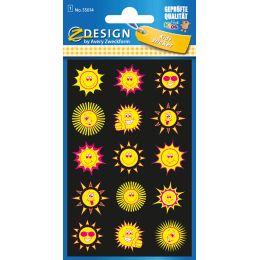 AVERY Zweckform ZDesign KIDS Neon-Sticker Sonne