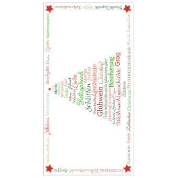 SUSY CARD Weihnachts-Geschenkumschlag Weihnachtsbaum