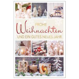 SUSY CARD Weihnachtskarte Weihnachtsdeko